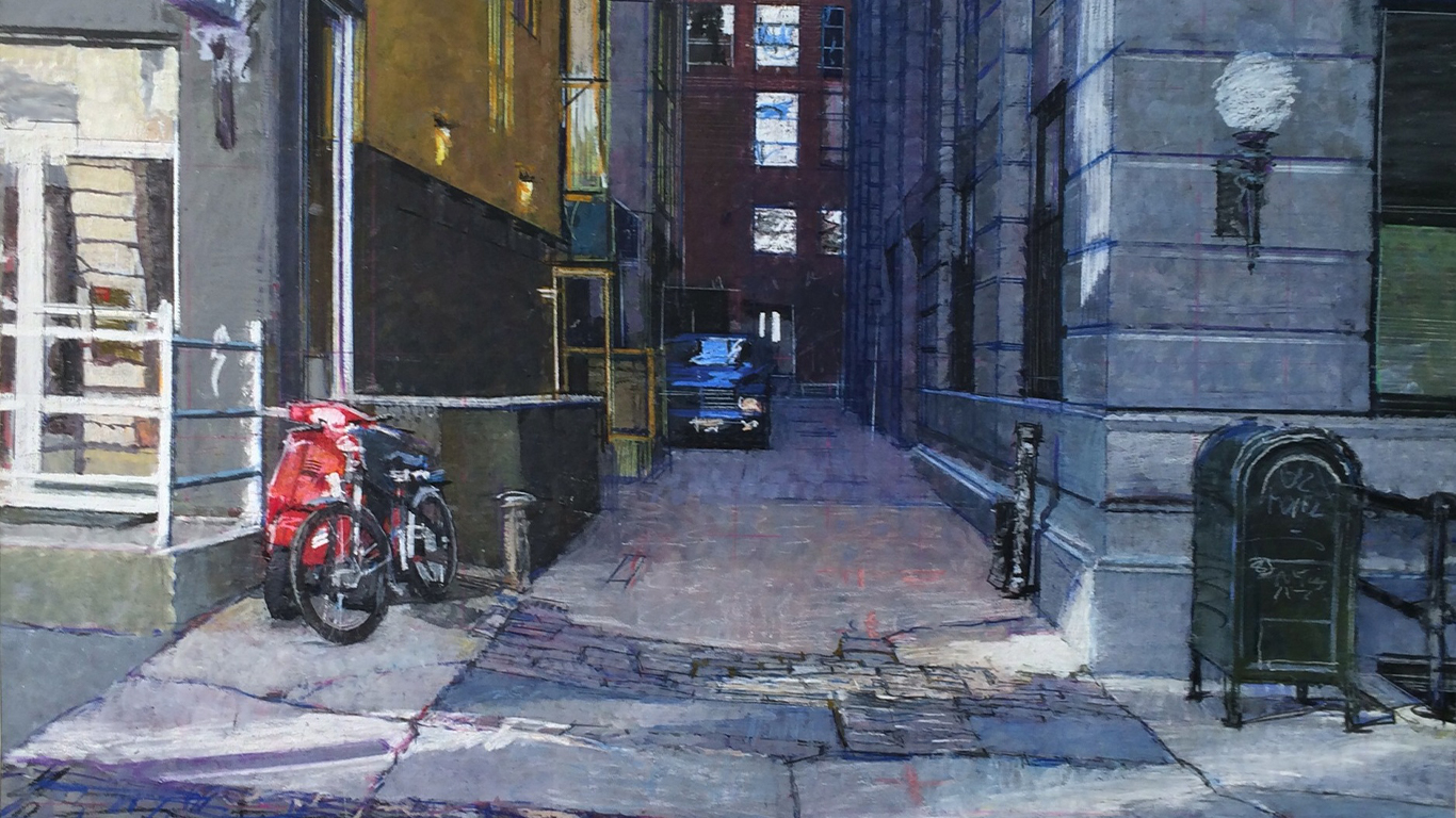 Alleyway | Private Collection | 120in x 80in