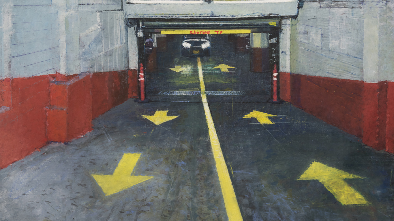 Parking Lot 2016 | Private Collection | 55in x 41in