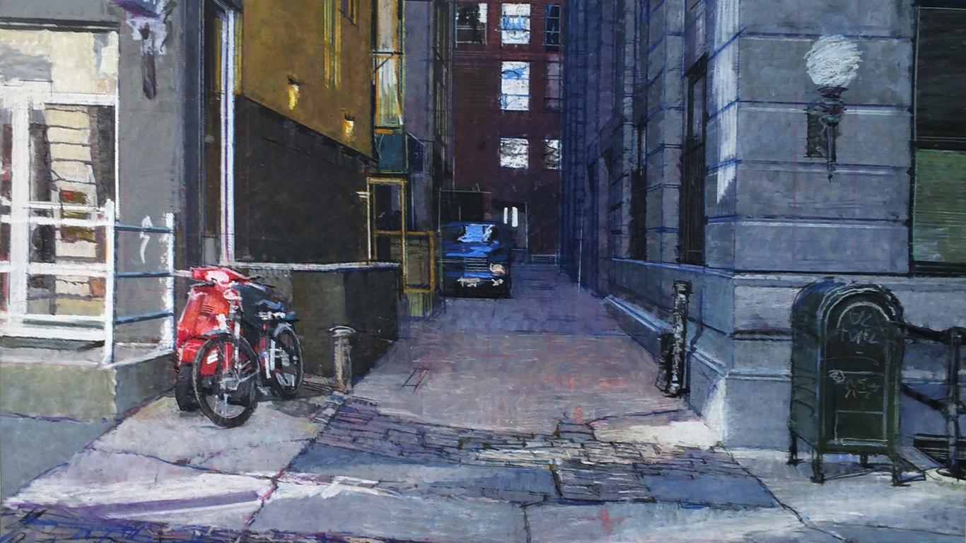 Alleyway by Bernardo Siciliano